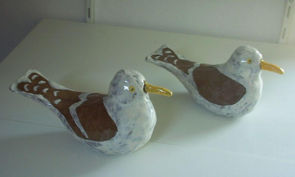 vogeltjes pottenbakkerij Stiens